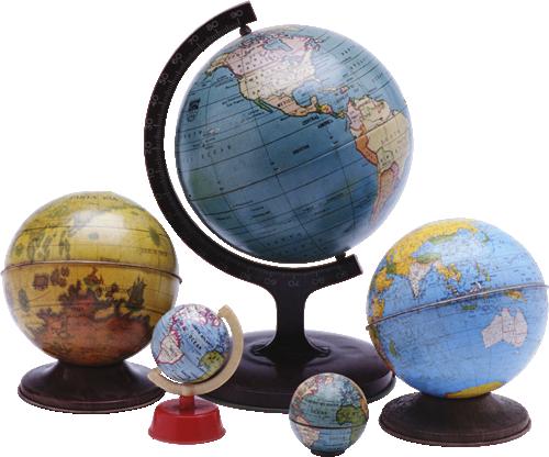 Почему глобус называют объемной моделью земли